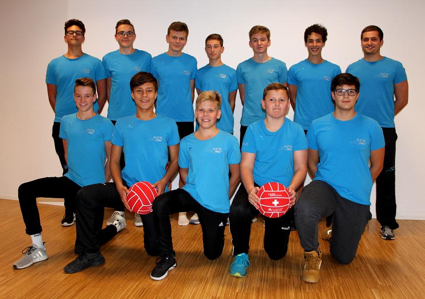Wasserball u17-team